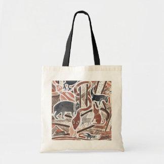 Australian Dreams Mythical Animals Snake Tote Bag
