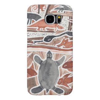 Australian Dreams Mythical Animals Turtle Samsung Samsung Galaxy S6 Case