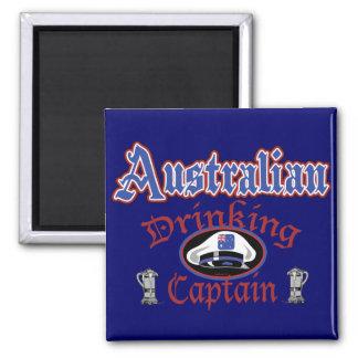 Australian Drinking Cptn Magnet