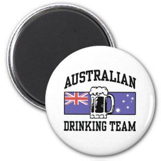 Australian Drinking Team 2 Inch Round Magnet