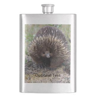 Australian Echidna Cute Animal Photo Flask