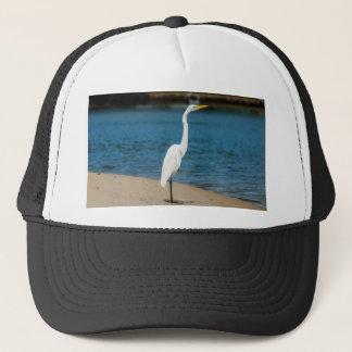Australian Egret in Maroochydore Trucker Hat
