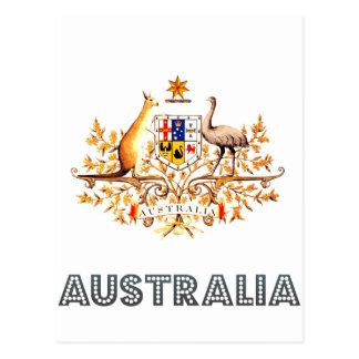 Australian Emblem Postcards