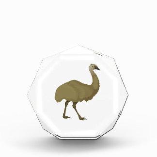Australian Emu Bird Acrylic Award