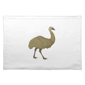 Australian Emu Bird Placemat
