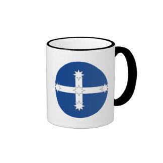 Australian Eureka Flag Ringer Mug