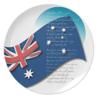 Australian Fair Plate