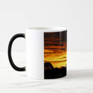 Australian fire sky magic mug