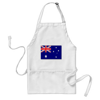 Australian Flag Adult Apron