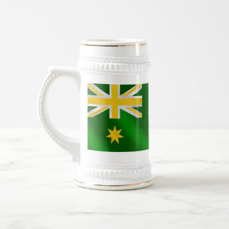 Australian flag Alternate colors - Show your style Beer Stein