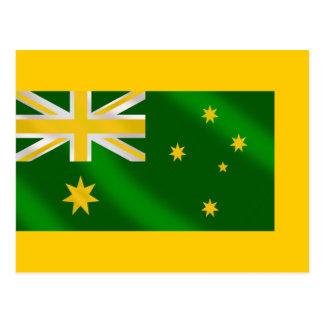 Australian flag Alternate colors - Show your style Postcard