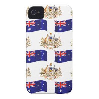 Australian Flag and Crest Blackberry Bold Cases