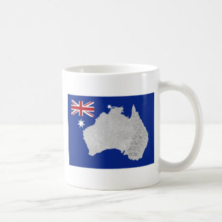 Australian Flag and Silhouette Mug
