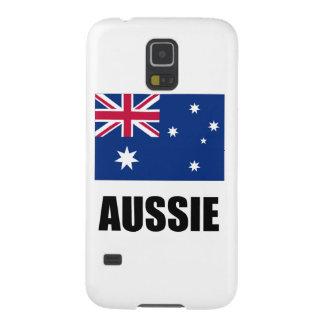 """Australian Flag / """"Aussie"""" Galaxy S5 Cover"""