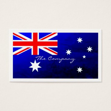 thebusinesscardstore Australian Flag, Australia Business Card