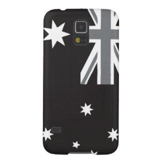 Australian Flag Black and White Galaxy S5 Case