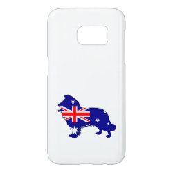 Case-Mate Barely There Samsung Galaxy S7 Case with Collie Phone Cases design