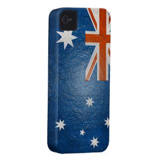 Australian Flag Buff BlackBerry Bold Case-Mate iPhone 4 Cover