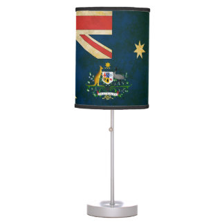 Australian Flag Coat of Arms Table Lamp