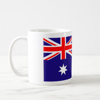 Australian flag coffee mug