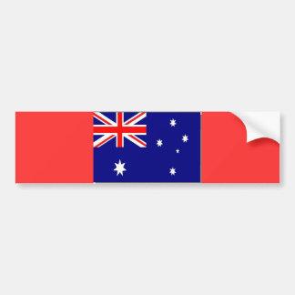 Australian Flag - Customized Car Bumper Sticker