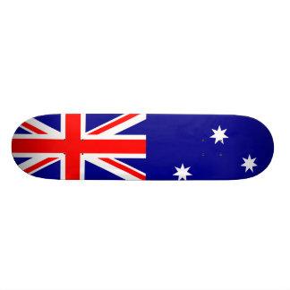 Australian Flag Design Skate Decks