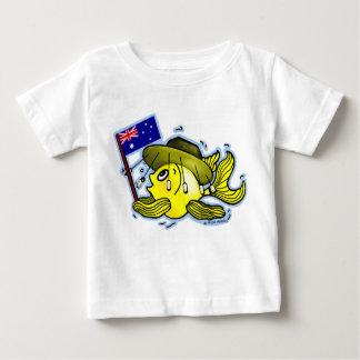 Australian Flag Fish funny OZI fish Shirts