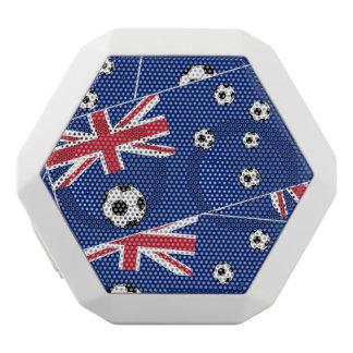 Australian Flag Football White Bluetooth Speaker
