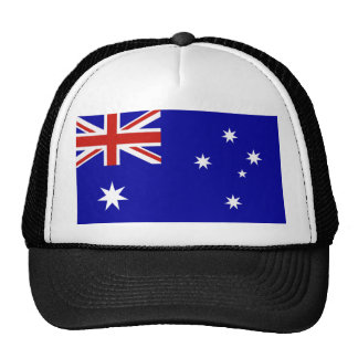 Australian flag hats