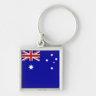 Australian flag key chains