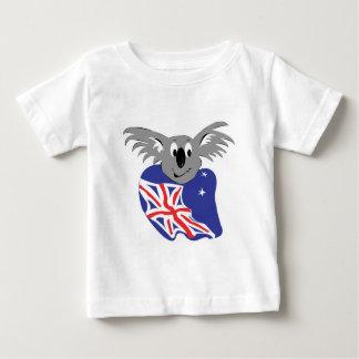 australian flag koala bear design baby T-Shirt