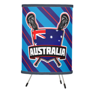Australian Flag Lacrosse Lamp