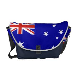 Australian flag messenger bag