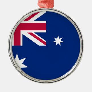 Australian flag metal ornament