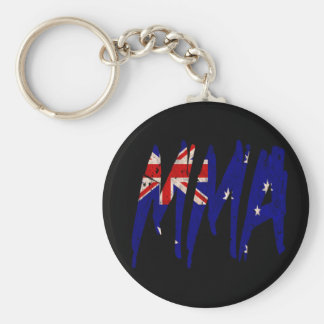 Australian Flag MMA Keychain