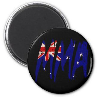 Australian Flag MMA 2 Inch Round Magnet