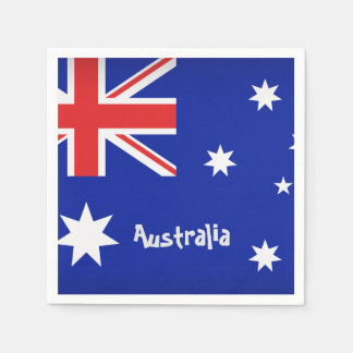 Australian Flag Napkin