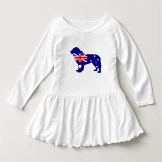 Australian Flag - Newfoundland Dog Dress