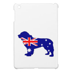 Australian Flag - Newfoundland Dog iPad Mini Case