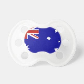 Australian flag pacifier
