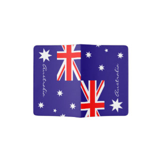 Australian flag passport holder | Australia pride
