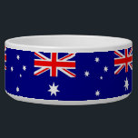 "Australian Flag Pet Bowl<br><div class=""desc"">Awesome Pet Bowl with Flag of Australia,  United States of America. This product its customizable.</div>"