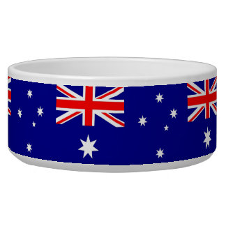 Australian Flag Pet Bowl
