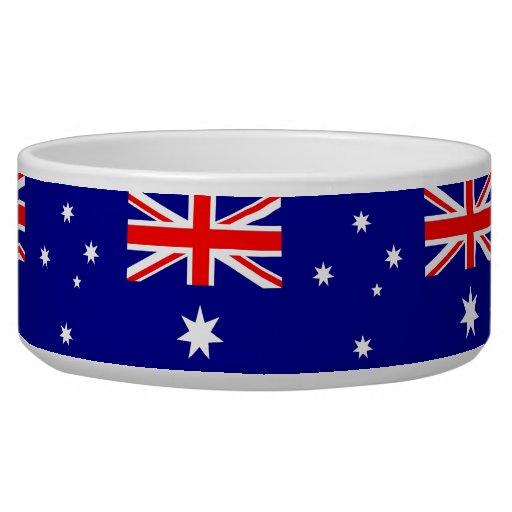 Australian Flag Pet Bowl