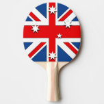 Australian Flag Ping Pong Paddle