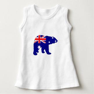 Australian Flag - Polar Bear Dress