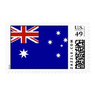 Australian flag postage