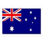 Australian Flag Postcard