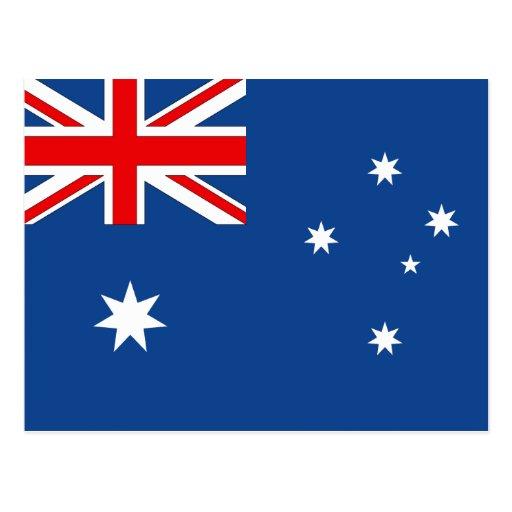 Australian Flag Postcards