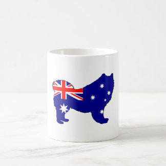 Australian Flag - Samoyed Coffee Mug